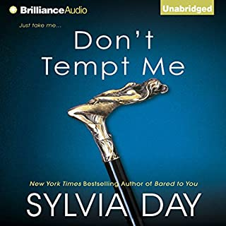 Don't Tempt Me     Georgian, Book 4              By:                                                                                                                                 Sylvia Day                               Narrated by:                                                                                                                                 Justine Eyre                      Length: 8 hrs and 18 mins     481 ratings     Overall 4.1