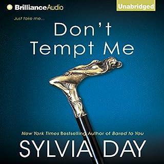 Don't Tempt Me audiobook cover art
