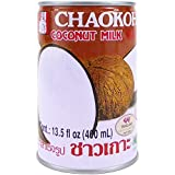 Chaokoh Coconut Milk 24 Pack - Creamy Non Dairy Milk, No Preservatives or Artificial Flavors, Canned...