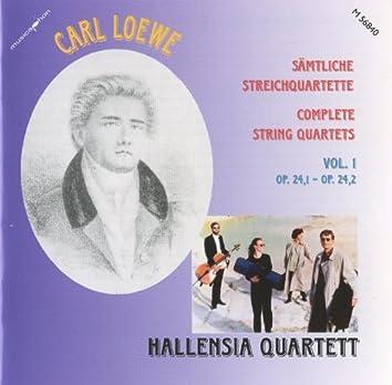Loewe: Complete String Quartets, Vol. 1