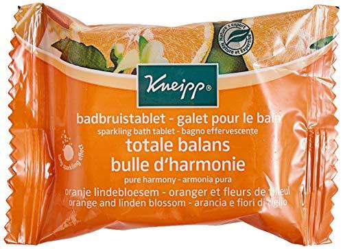 Kneipp Galet pour Bain Oranger Fleurs de Tilleul 80 g