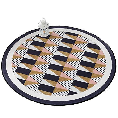 Peijco Bodenmatte Runde Teppiche Computer Stuhl Slip Mat (Size : Diameter-150cm)
