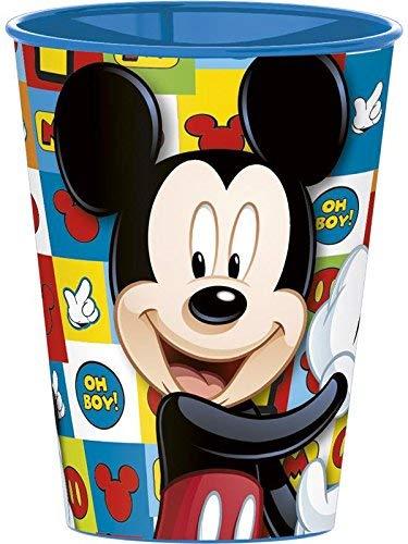 Familienkalender Vaso compatible con Mickey Mouse Disney, cristal, para fiestas, regalo, niños,...