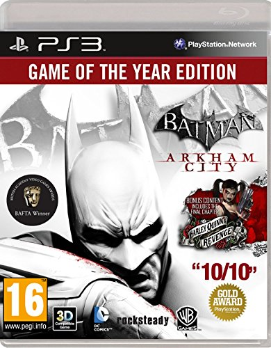 [Import Anglais]Batman Arkham City Game of the Year Edition GOTY Game PS3