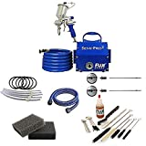 Fuji Spray Semi-PRO 2 Gravity HVLP Spray System with Pro Accessory Bundle (7 Items)