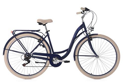 KS Cycling Damenfahrrad 28'' Balloon blau RH48cm