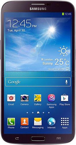 Samsung I9025 Galaxy Mega - Smartphone libre (pantalla de 6,3', 16GB), color negro (importado)