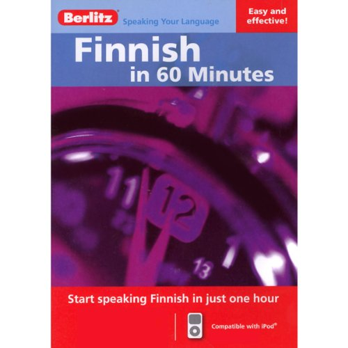 Finnish...In 60 Minutes audiobook cover art