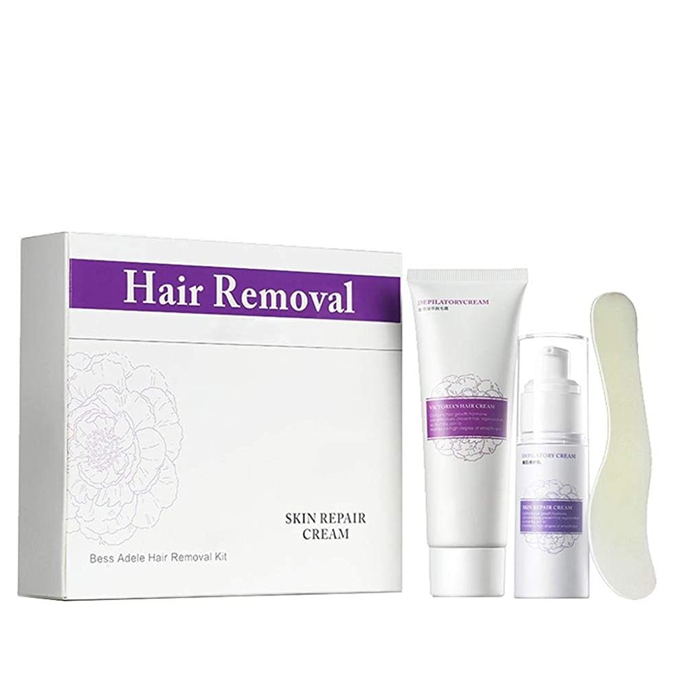 おとなしいフロンティアハロウィン除毛クリーム 修復用ミルクスクレーパー優しい脱毛は肌を傷つけません、ファースト&シンプル、肌の潤いを和らげ、保ちます