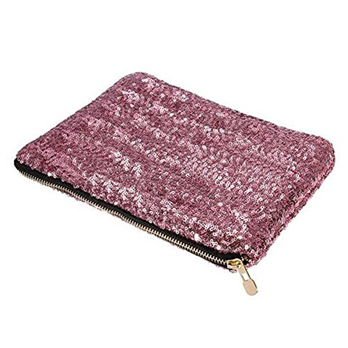 DAYAN Sac à cosmétiques paillettes Damentascge de sac à main de sac de soirée des dames de mode d'embrayage