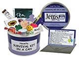 Kit di sopravvivenza in lattina per il compleanno Divertente regalo originale per amico, sorella, fratello, madre, padre, nipoti, zio, zia, cugini, nonna, nonno.