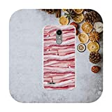 Funny Roast Meat Silicon Soft TPU Phone Cases for LG K4 K7