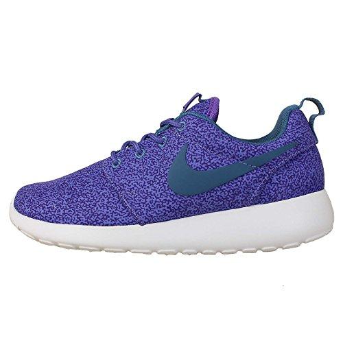 Nike Roshe Run - Zapatillas para Mujer, (Purple Haze/Hyper Grape/Volt/Rift Blue), 5.5 B(M) US