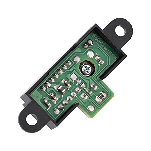 Sensor infrarrojo eléctrico del módulo de la distancia/de la proximidad con el rango de medición de 10cm a 80cm y salida analógica