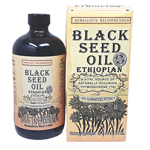 """100% Pure Ethiopian Black Seed Oil (16 oz.)""""The Miracle Seed"""" Extra Potent Oil 