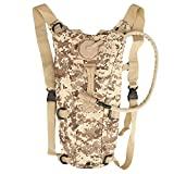 IRIS Hydration Pack with 3L Backpack Water Bladder for Hunting Climbing Running