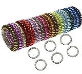 Shapenty 6 Colors Plastic Elastic Stretch...