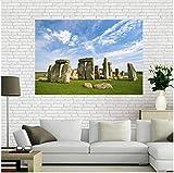 Duying Stonehenge Landschaft Poster Wand für Home Room Art