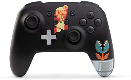 Controle Powera Enhanced Wireless 8-bit Super Mario - Switch