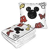 N \ A Mic-Key Mouse - Manta de viaje portátil para dormir,