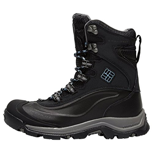 Columbia Bugaboot Plus III Omni-Heat, Scarpe da Arrampicata Donna, Nero Black Dark Mirage 010, 36 EU
