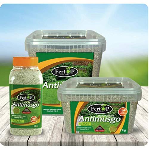 FertOP® - Abono para Césped, AntiMusgo, Fertilizante de
