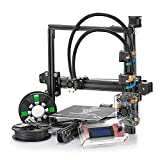 TEVO 3D Drucker,Tarantula I3 Aluminium Extrusion Dual extruder 3D Printers DIY Kit Printer with 2 Rolls Printing Filaments and SD Card (Large bed+Automatic Leveling+Flex & Dual Extruder)