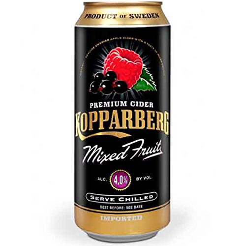 Kopparberg Sidra Mixed Fruit - 12 Paquetes de 500 ml - Total