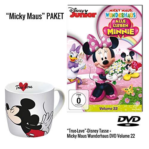 Micky Maus Wunderhaus Volume 22: Alle lieben Minnie DVD + Micky Maus Tasse