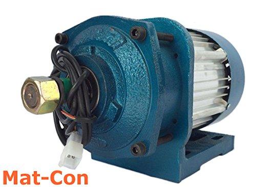 Planetengetriebe E-Motor BLDC Gleichstrom 48V 3KW 3000W (max. 5KW 5000W) 120Nm 600U/min Elektromotor mit Getriebe, 3 Phasen, mit Hallsensoren, bürstenlos