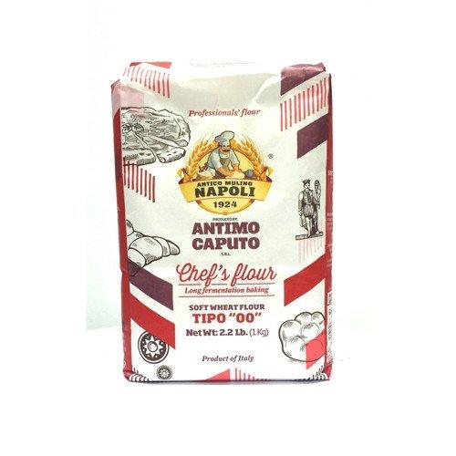 Antico Molino Napoli Antimo Caputo '00' Flour 2.2 Lb (Pack of 4)