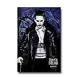 DPFRY Leinwand Malerei Wandkunst Bild Suicide Squad Movie