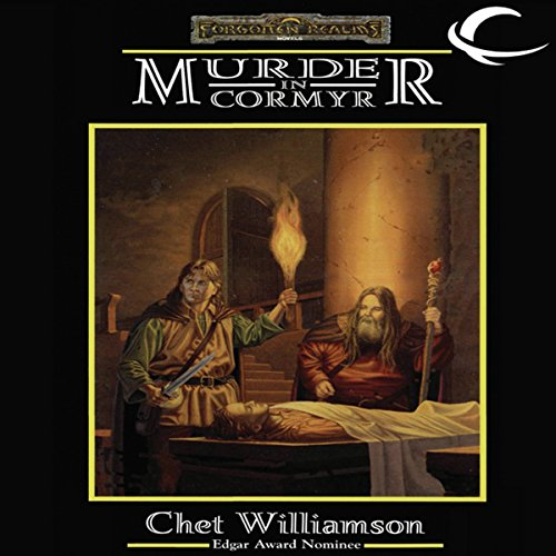 Murder in Cormyr audiobook cover art