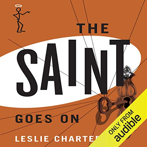 The Saint Goes On audiobook cover art