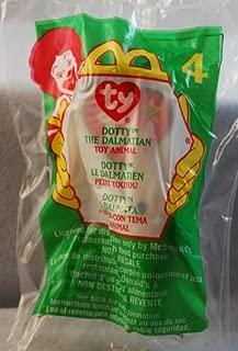 Dotty the Dalmatian Dog - McDonald's Happy Meal Toy # 4 Ty Teenie Beanie Baby
