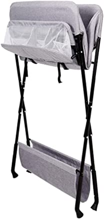 LHSUNTA Changing Table Baby  Folding Diaper Station for Large Spaces  Perfect for 0-3 Years Old Toddler