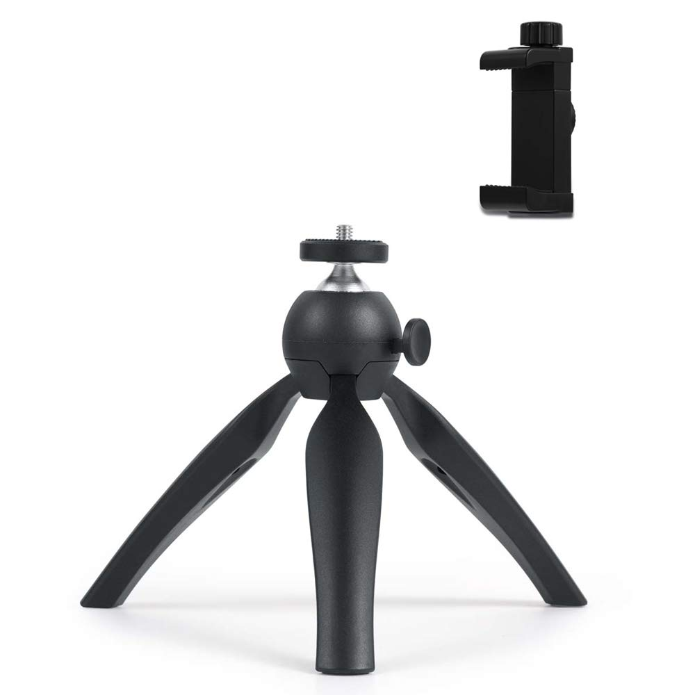 Mini Tripod Small Projector Mount Premium Tabletop Stand for GoPro iPhone//Any Mobile Phones Webcam Projectors Compact DSLR