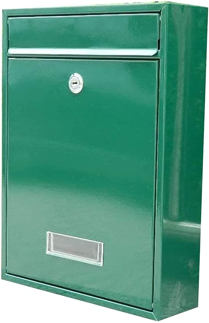 Chihen Wall-Mount Mailbox Wall Lockable Postbox Max Popular popular 77% OFF Waterpro Mounted