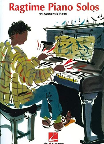 Ragtime Piano Solos - 44 Authentic Rags: Songbook für Klavier