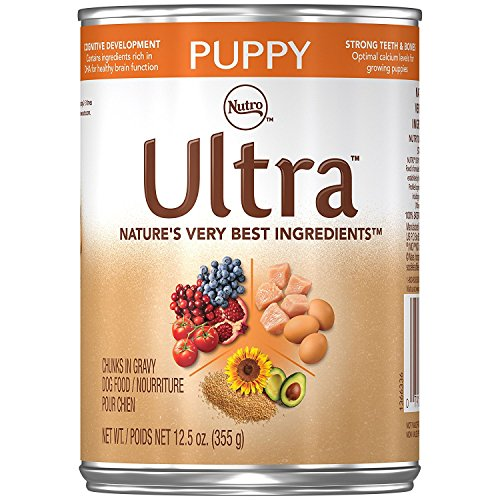 ULTRA Puppy Canned Puppy Food 12.5 Ounces (Pack of...