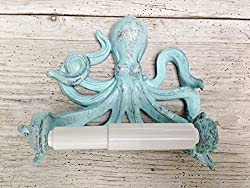 gifts for octopus lovers ~ toilet roll holder