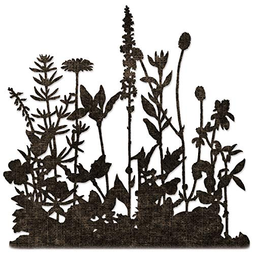 Sizzix Thinlits Stanzschablone Flower Field von Tim Holtz, 665369