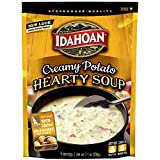 Idahoan Creamy Potato Hearty Soup, Made with Gluten-Free 100-Percent Real Idaho Potatoes, 7.1 oz Pouch (Pack of 8)