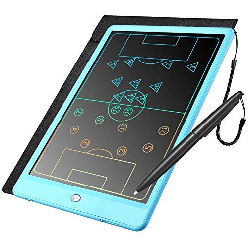 Negro HOMESTEC Tableta de Escritura LCD a Color Tableta electr/ónica de Dibujo sin Papel 8,5 Pulgadas para ni/ños Trabajar Familia