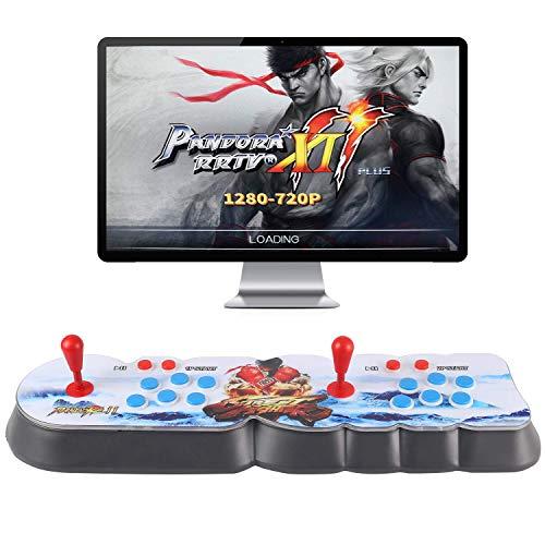 MEANSMORE Pandora Box 11 Multijugador Joystick y Botones Arcade Console, Arcada Juegos Máquinas, 3003 Retro Classic Video Juegos Todo en Uno, Sistema más nuevo con CPU avanzada, Soporte PS3