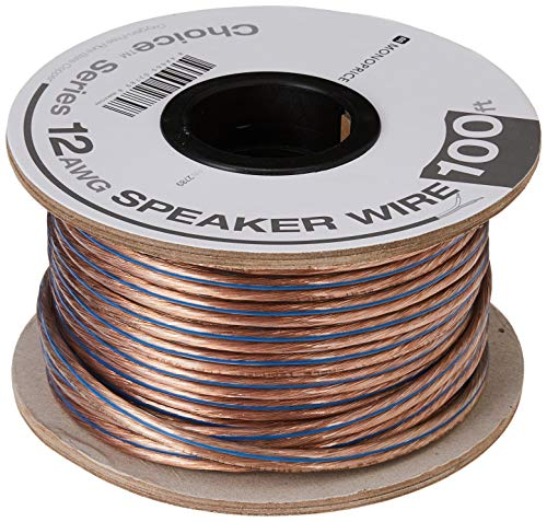 Monoprice 100ft 12AWG Enhanced Loud Oxygen-Free Copper Speaker Wire...