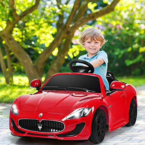 Buy Bargain Alek…Shop Super Car Model for Kids Ride On Maserati 12 V Licensed Electric Kids Riding...