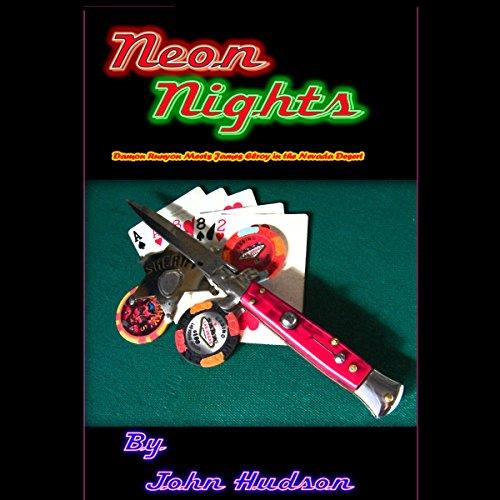 Neon Nights audiobook cover art
