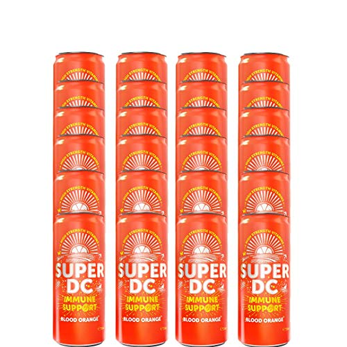 Gusto Super DC Blood Orange Vitamin Drink 24 x 250ml Cans