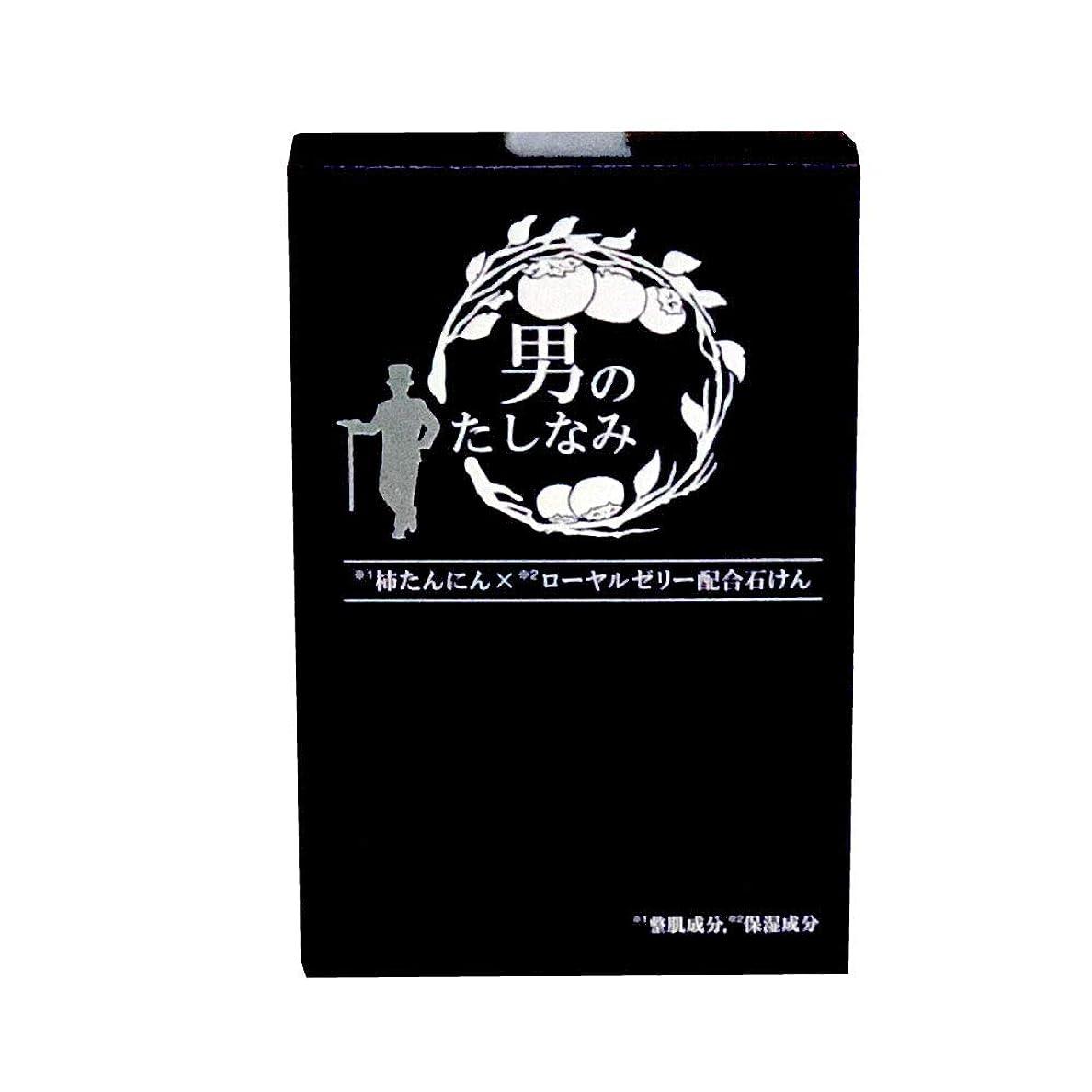 堀不確実ピジン【初回限定 お試し価格】 柿渋石鹸 男のたしなみ (100g)